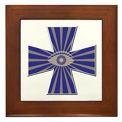 Masonic all seeing eye Framed Tile