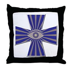 Masonic all seeing eye Throw Pillow