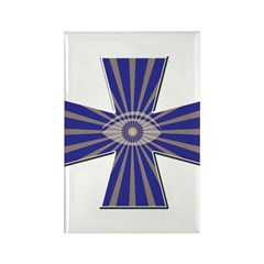 The Masonic all seeing eye Rectangle Magnet
