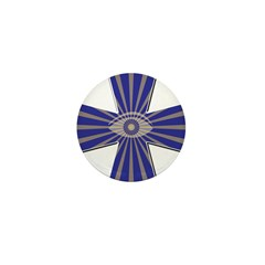 The Masonic all seeing eye Mini Button (10 pack)
