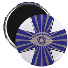 The Masonic all seeing eye Magnet