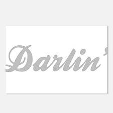 Darlin' Postcards (Package of 8)