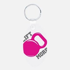 Lift More Kettlebell Keychains