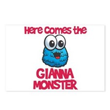 Gianna Monster Postcards (Package of 8)