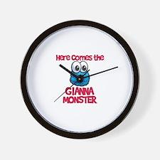Gianna Monster Wall Clock