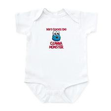 Gianna Monster Infant Bodysuit