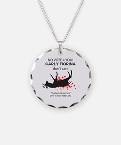 ANTI Fiorina Iowa Deer Necklace