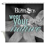 Blaylock logo Shower Curtain