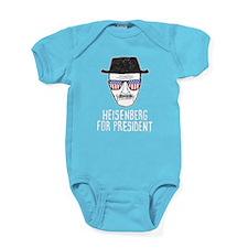 Heisenberg for President Baby Bodysuit