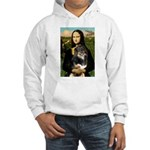 MonaLisa-Aussie Shep (Tri-L) Hooded Sweatshirt