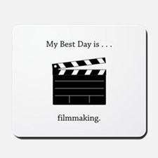 Best Day Filmmaking Gifts Mousepad