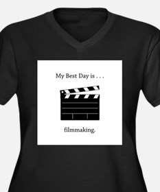 Best Day Filmmaking Gifts Plus Size T-Shirt