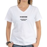 911 dispatcher Womens V-Neck T-shirts