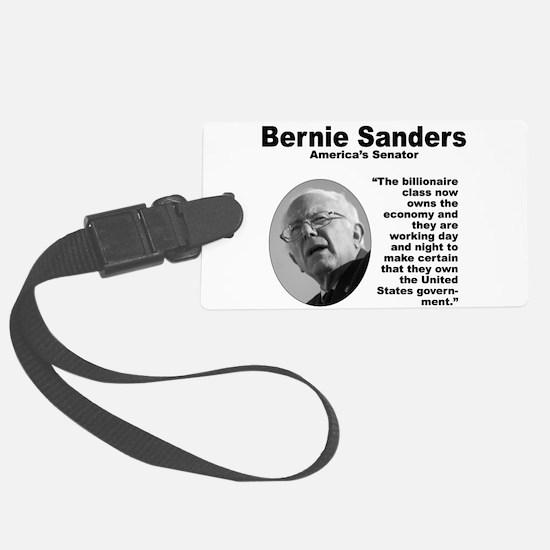 Sanders: Billionaires Luggage Tag