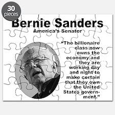 Sanders: Billionaires Puzzle