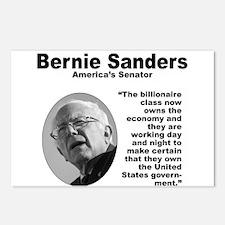 Sanders: Billionaires Postcards (Package of 8)