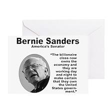 Sanders: Billionaires Greeting Card