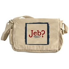 Jeb Bush 2016 Parody Messenger Bag