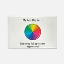 Best Day Colorful Expression Gifts Magnets