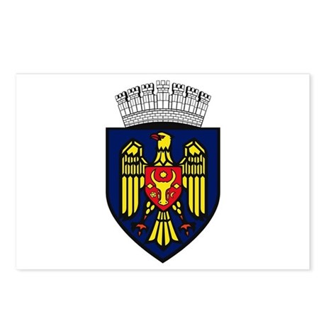 Chisinau Coat of Arms Postcards (Package of 8)