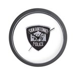 San Antonio PD Canine Wall Clock