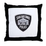 San Antonio PD Canine Throw Pillow