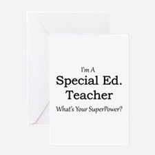 Special Ed. Teacher Greeting Cards