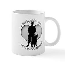 luv my handler Mug