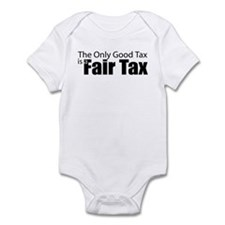 Only Good Tax Onesie