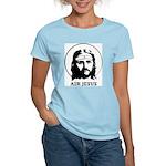 AIR JESUS Women's Pink T-Shirt