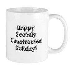 Happy Holidays For The Sociologist Mugs