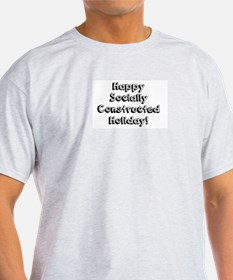 Happy Holidays For The Sociologist T-Shirt