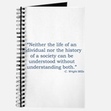 C. Wright Mills Quote Journal