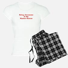 Sociology: Master Status Pajamas