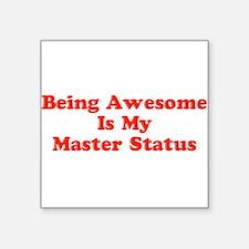 Sociology: Master Status Sticker
