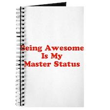 Sociology: Master Status Journal