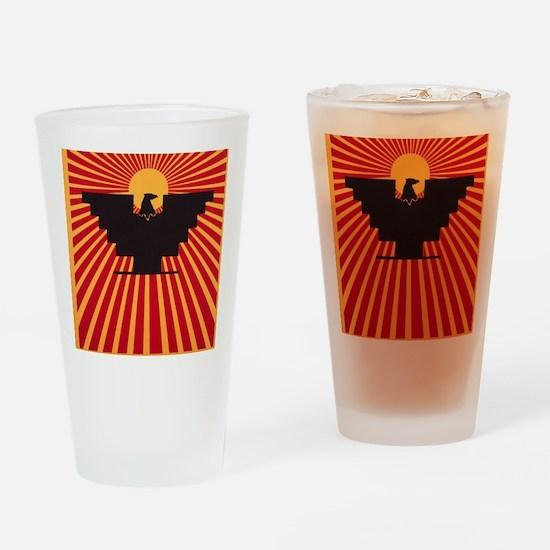 Huelga Drinking Glass