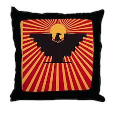 Huelga Throw Pillow