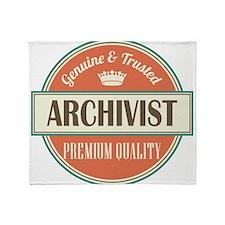 Archivist Throw Blanket