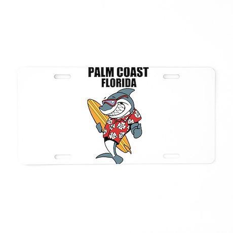 Palm Coast Florida Aluminum License Plate By Bestbeach