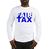 Taxes Long Sleeve T-shirts