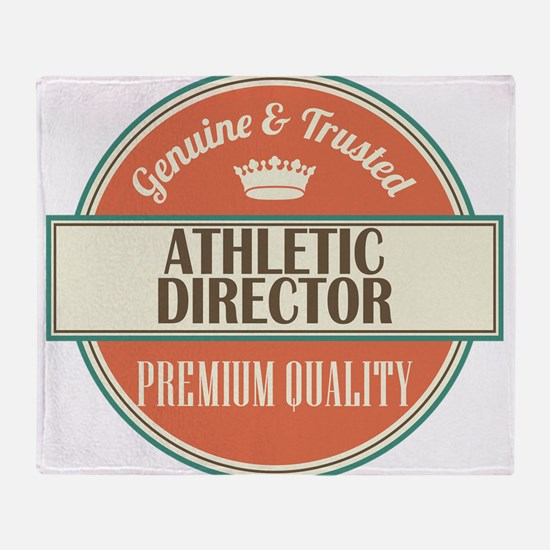 Athletic Director Throw Blanket