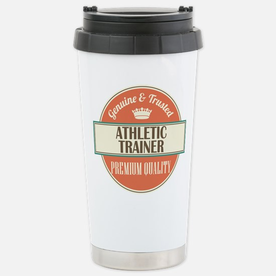 athletic trainer vintag Stainless Steel Travel Mug