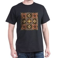 vintage gold cross scandinavian T-Shirt
