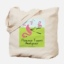 Flamingo Tippers Anonymous Tote Bag