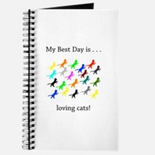 Best Day Loving Cats Gifts Journal