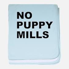 No Puppy Mills baby blanket
