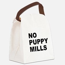 No Puppy Mills Canvas Lunch Bag