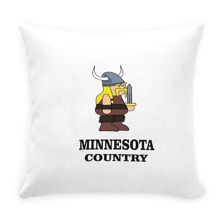 vikings of minnesota cute Everyday Pillow