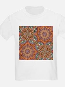 turquoise orange bohemian moroccan T-Shirt